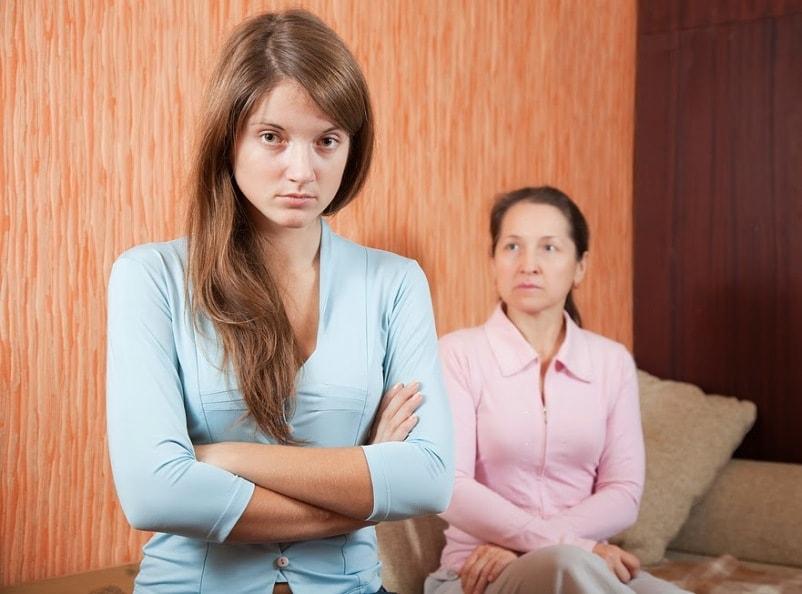 плохие отношения с мамой